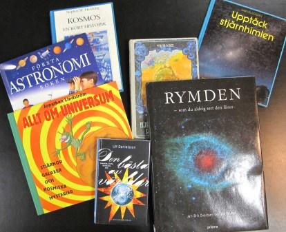 Böcker om rymden
